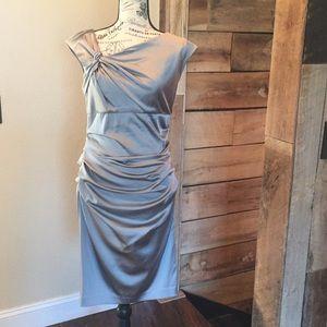 Suzuki Chin for Maggy Boutique Silver/gray dress